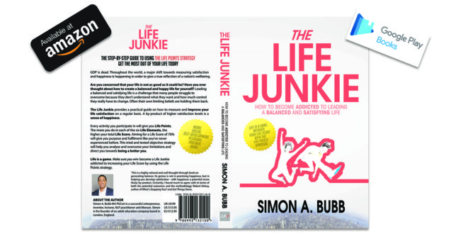 The Life Junkie by Simon Bubb